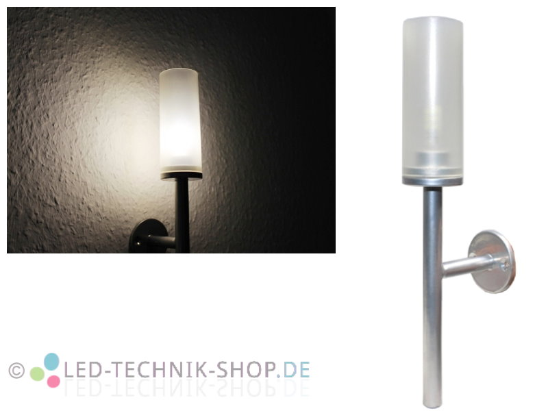 led wandlampe m belleuchte fackel warmweiss 1 5w 110lm einzeln oder im set ebay. Black Bedroom Furniture Sets. Home Design Ideas