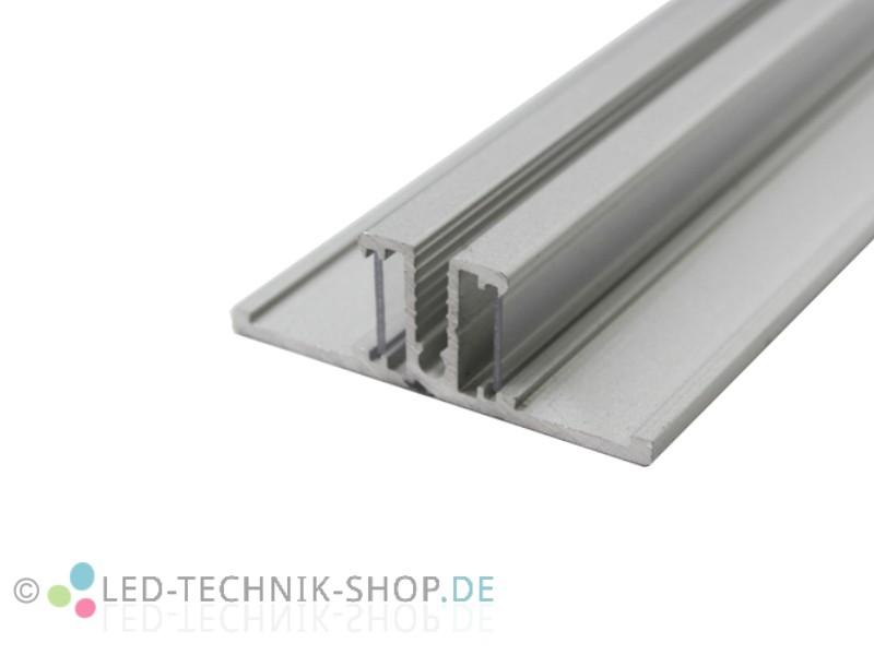 aluminium led profil lts 44 alu eloxiert lichtvoute. Black Bedroom Furniture Sets. Home Design Ideas