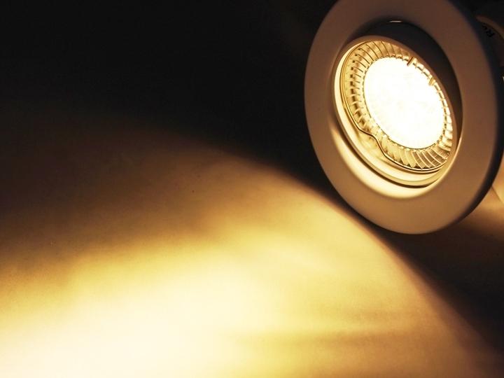 LED Einbaustrahler Downlight weiss 230V schwenkbar 6W warmweiss  Deckeneinbauleuchten ...