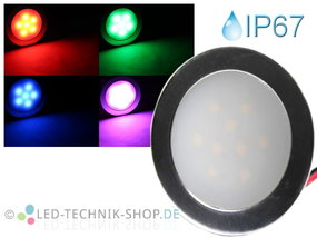 LED Einbauleuchte Slim IP67 rgb