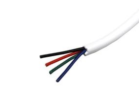 Kabel Litze RGB rund 4x0,14mm²