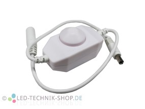 Inline LED Dimmer weiss 12-24V