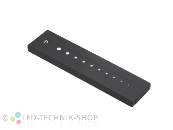 led funk dimmer fernbedienung 1 kanal led dimmer led steuerungen led technik shop. Black Bedroom Furniture Sets. Home Design Ideas