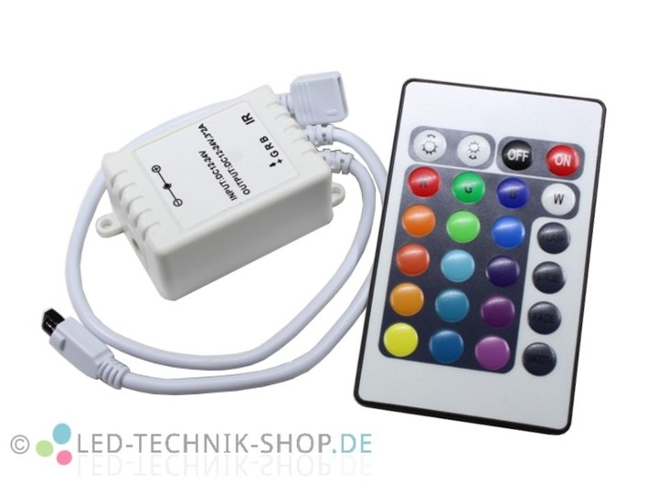 Led-technik-shop / % sonderangebote / led rgb controller 24-key