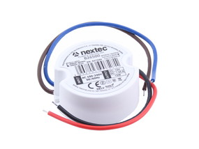 LED Trafo Mikro IP67 12V 15W rund
