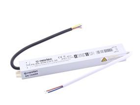 LED Trafo Slim IP67 12V 40W