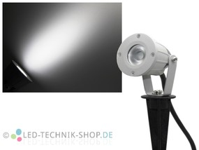 High Power LED Gartenstrahler IP65 kaltweiss