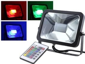 30W Slim RGB LED Fluter
