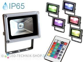 LED Fluter 10W RGB