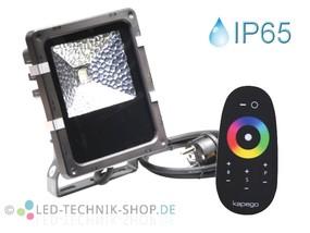 10W RGB LED Fluter RF IP65