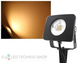 LED Design Gartenstrahler 10W warmweiss
