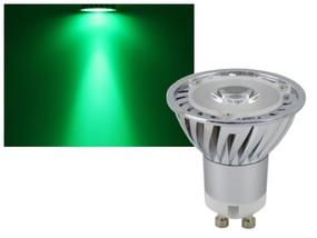 LED Strahler GU10 grün 3W