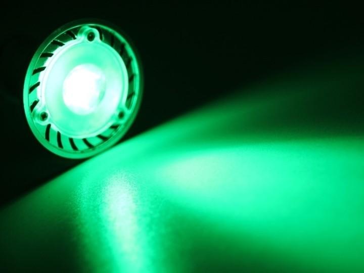 led strahler gu10 gr n 3w gu10 led leuchtmittel led. Black Bedroom Furniture Sets. Home Design Ideas