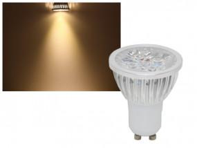 LED Power Strahler GU10 4W warmweiss