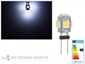 LED G4 5 SMD 1W kaltweiss