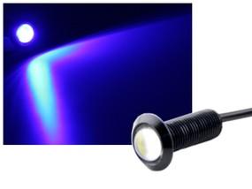 Alu COB LED Spot Schraube Typ-1 1,2W blau