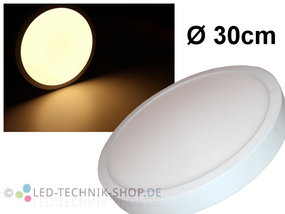 LED Panel 24W 1500lm warmweiss