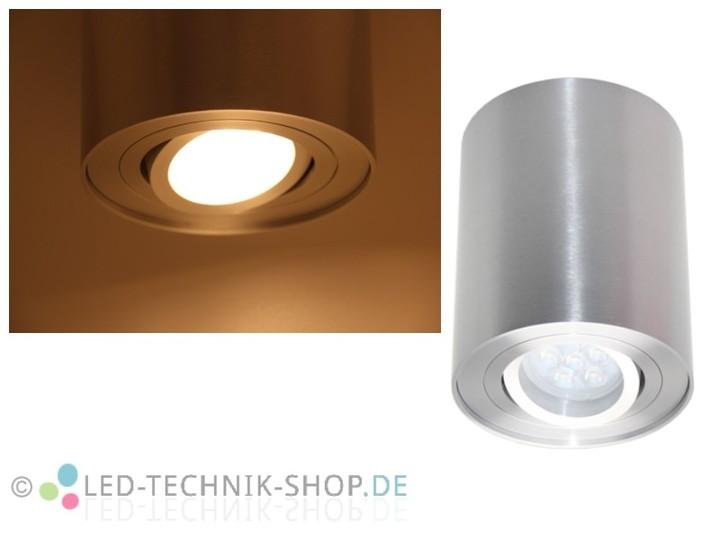 Led Design Lampe Rund 6w Warmweiss Dimmbar Deckenaufbauleuchten