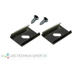 Befestigungsclips flex für Alu LED Profil