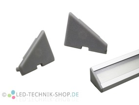 Endkappen für Alu LED Profil LTS-12