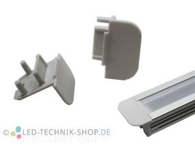 Endkappen für Alu LED Profil LTS-33