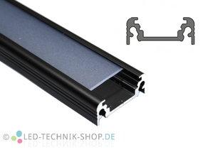 Alu LED Profil LTS-13 Black