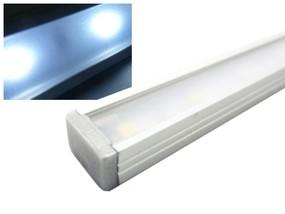 Alu LED Leiste Slim weiss