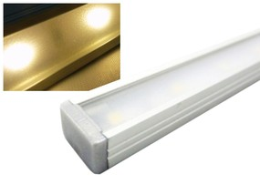 Alu LED Leiste Slim warmweiss