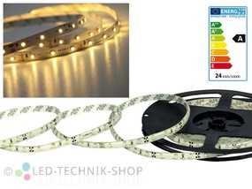 LED Strip 12V 3528-60 IP20 500cm warmweiss