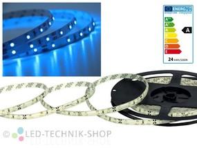 LED Strip 12V 3528-60 IP20 500cm blau