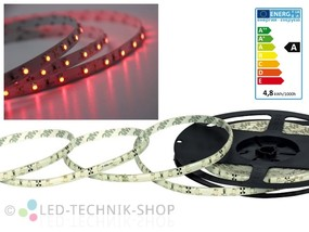 LED Strip 12V 3528-60 IP20 100cm rot