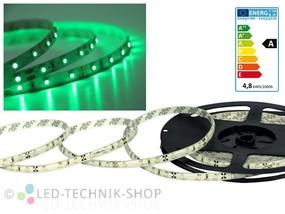 LED Strip 12V 3528-60 IP20 100cm grün