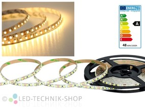 LED Strip 12V 3528-120 IP20 500cm warmweiss