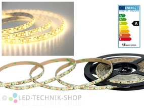LED Strip 12V 3528-120 IP63 500cm warmweiss