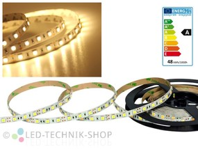 LED Strip 12V 5050-60 IP20 500cm warmweiss