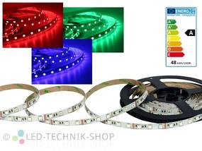 LED Strip 12V 5050-60 IP20 500cm RGB