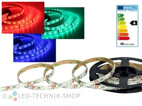 LED Strip 12V 5050-60 IP63 500cm RGB