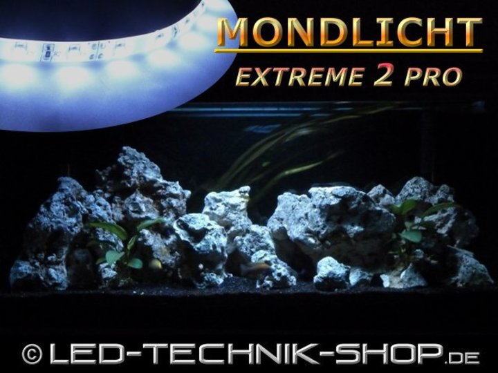 mondlicht 39 extreme 2 pro 39 weiss 30 120cm led aquarium terrarium mondlichter led technik shop. Black Bedroom Furniture Sets. Home Design Ideas